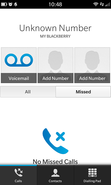 how to change my phone number on blackberry 10