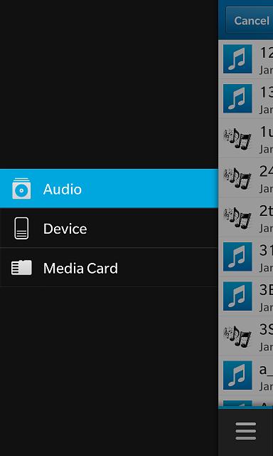 blackberry notification tones