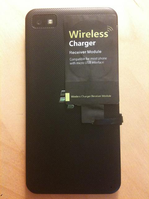 Z10 Wireless Charging Success Blackberry Forums At