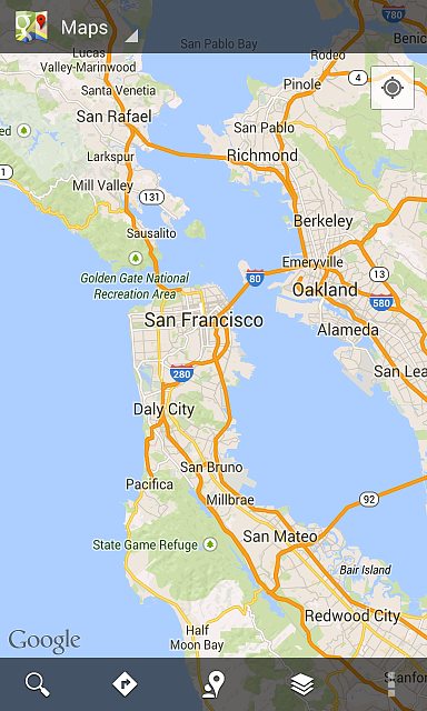Google Maps For Mobile Layers