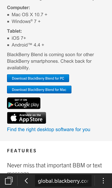 New Update of Blackberry Blend Work with My Z10 - Page 2