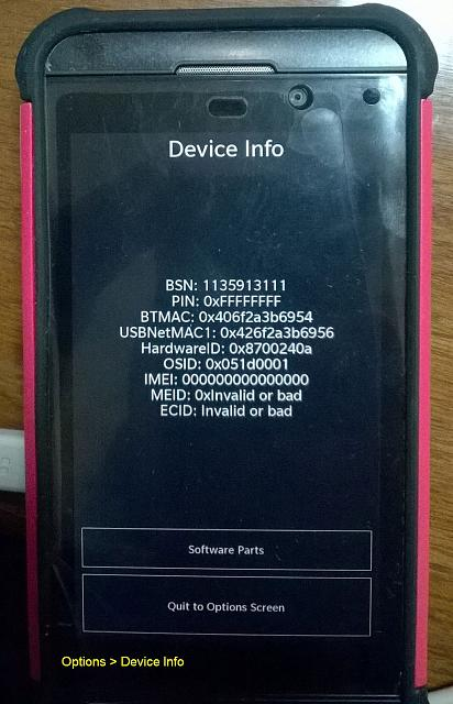 Very techy assistance needed for Z10 revival - BlackBerry