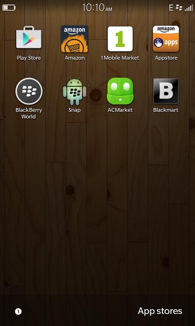 Cobalt, Sideloading, Snap etc  : Running Android Apps on BB