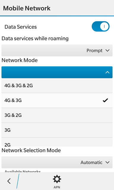 How do I use my data setting to get LTE on Metro PCS