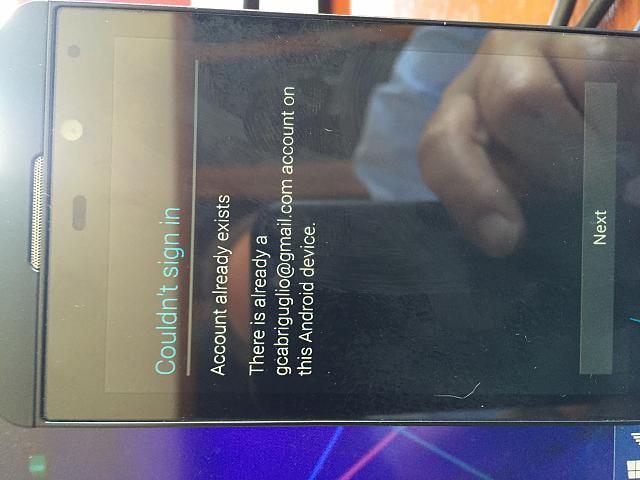 Google Play Store: followed Cobalt's instructions, not working