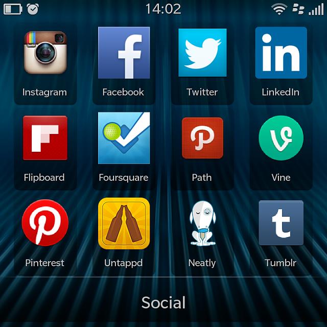 Popular Blackberry Apps