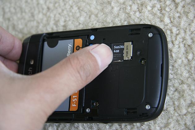Blackberry Media How to Format Blackberry Media