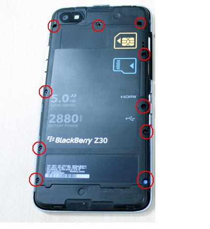 Z30 Battery drained and phone does not start or charging  *SOLUTION