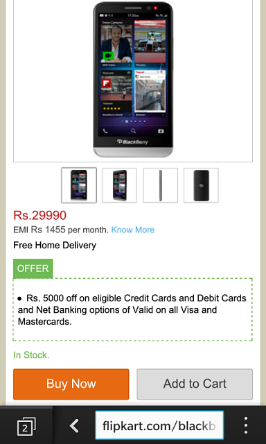more photos c5448 1771b BlackBerry Z30 available at 25K INR on Flipkart - BlackBerry Forums ...