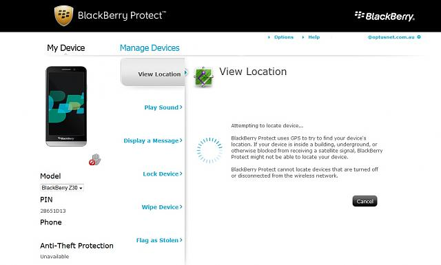 How to enable Anti-theft protection - BlackBerry Forums at