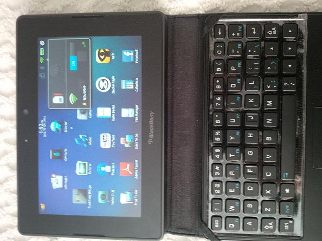 BB Playbook 4G LTE, unlocked, Telus and T-Mobile SIMs