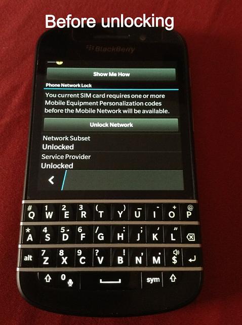 Unlocked, Mint condition Black Q10, SQN100-3 - BlackBerry