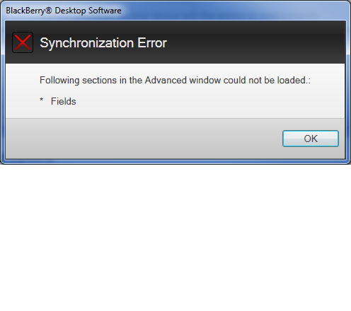 "Can't configure Calendar Synchronization with Notes - section ""Fields"" could not be loaded-syncherror.png"