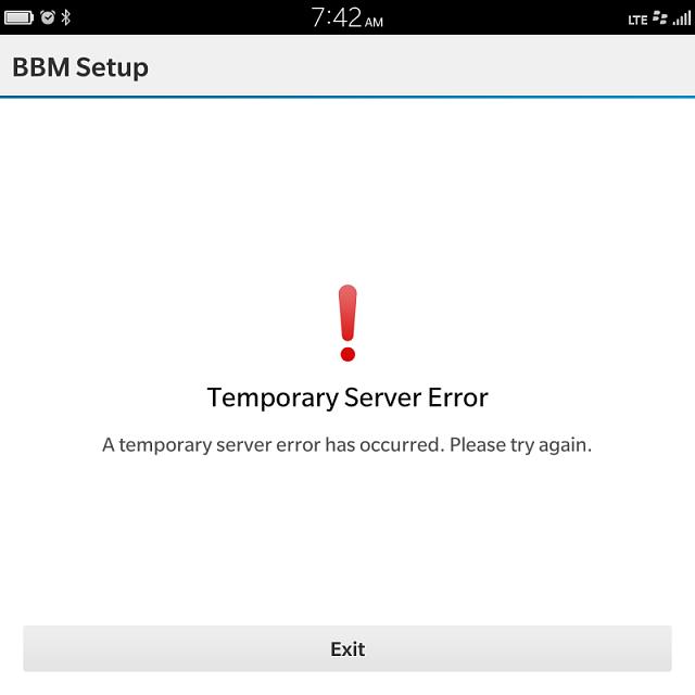 temporary server