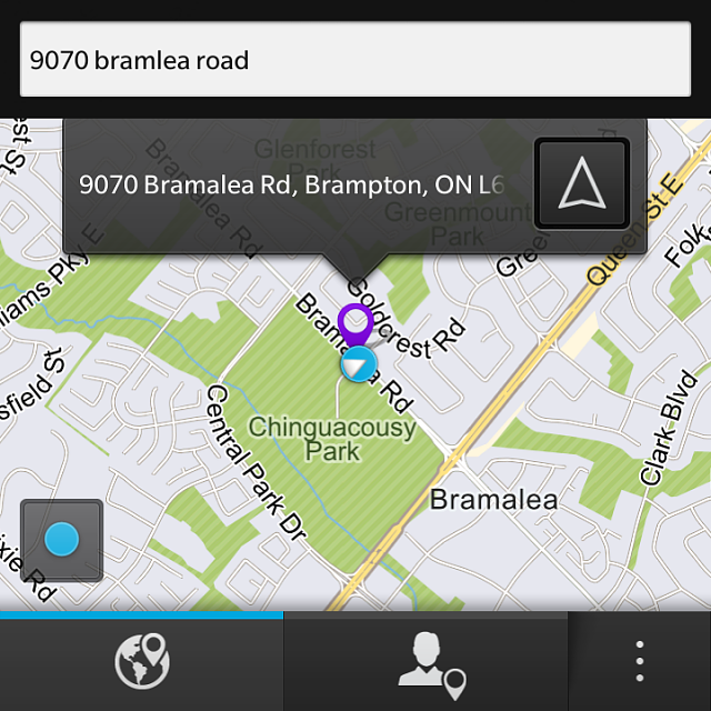 Google maps vs BlackBerry maps - BlackBerry Forums at