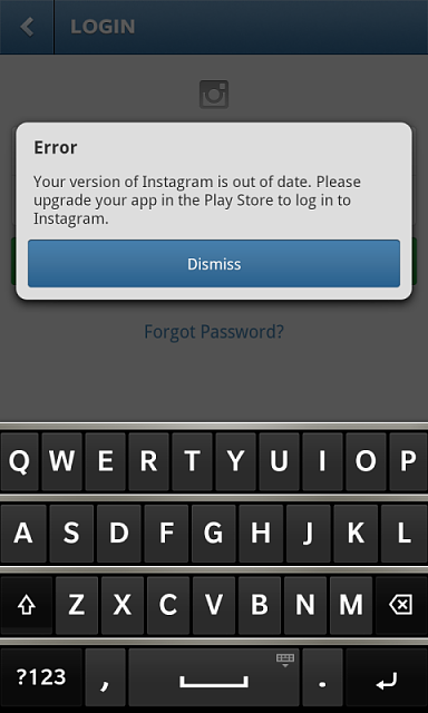i logged out of my instagram  and i u0026 39 m trying to log in but