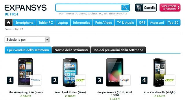 Z30 #1 sale for Expansys in Italy-bb.jpg