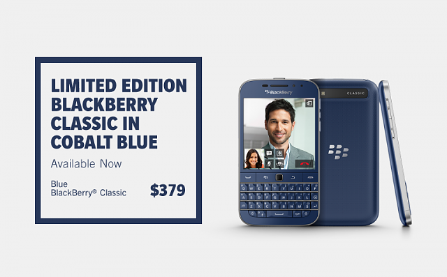 Blue BlackBerry Classic - BlackBerry Forums at CrackBerry com
