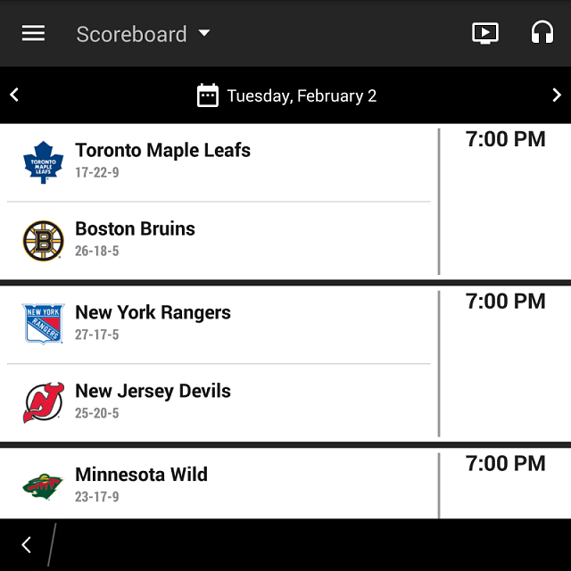 NHL Gamcenter App for BB10.   Did it update???-img_20160202_181432.png