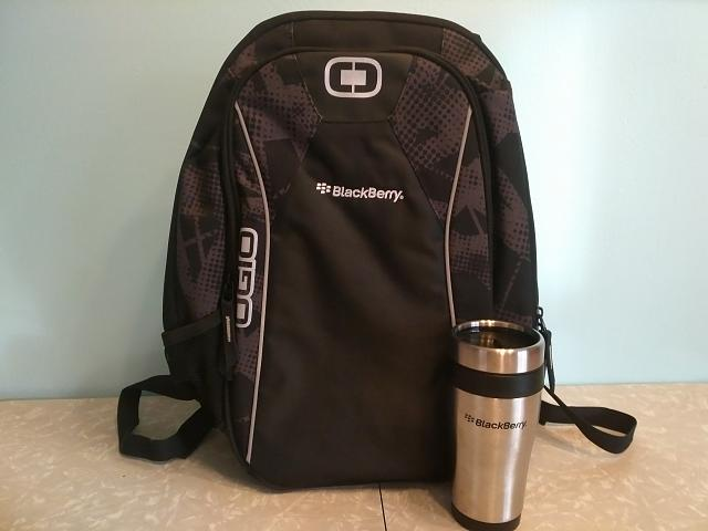 The honorary Carjackd BlackBerry / CrackBerry Collectors Corner-mrfreeze_backpack_travel_mug.jpg