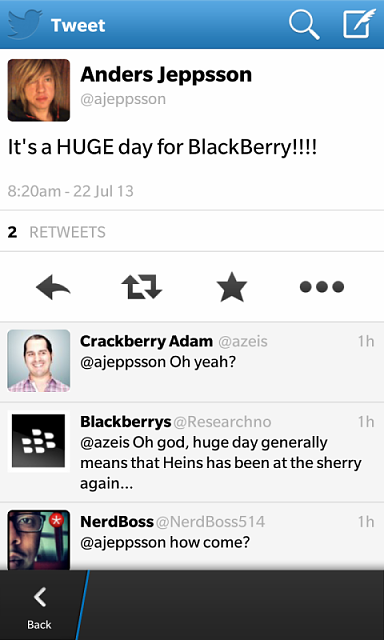 """Its a HUGE day for BlackBerry today!!!!"" - Anders Jeppsson, head of gaming-img_00000349.png"