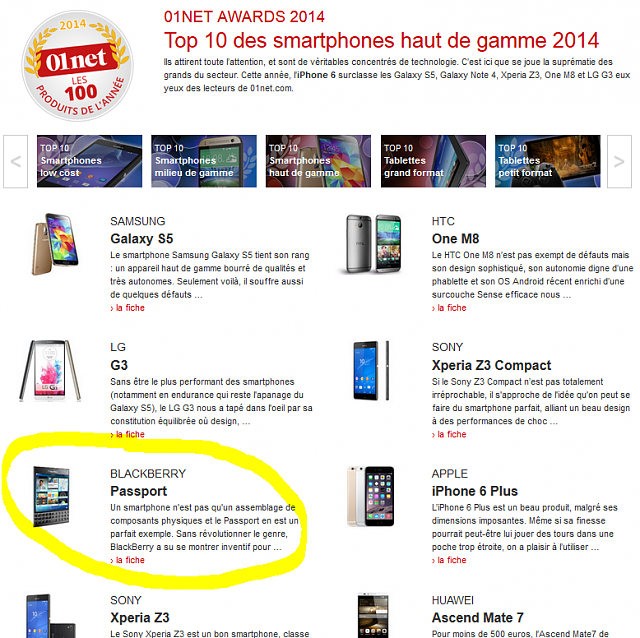 Passport spotted in [FR] 01net 2014 TOP10 awards!-capture.png