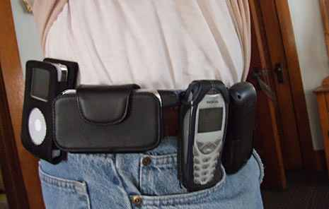 No matter what, people carry multiple devices...-cell_phone_belt.jpg