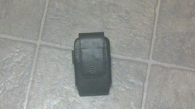 BlackBerry 9900/9930 OEM Leather Holster for Sale-holster1.jpg