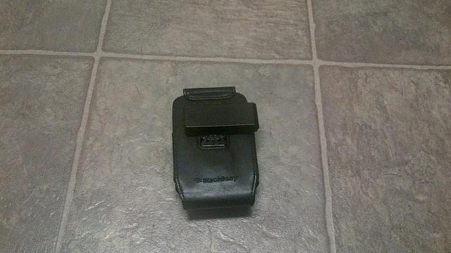 BlackBerry 9900/9930 OEM Leather Holster for Sale-holster2.jpg