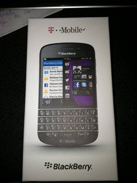 [NYC ONLY!] T-Mobile BlackBerry Q10-1376421603633.jpg