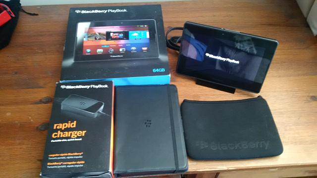 BlackBerry Playbook 64 GB w/ Charging Dock, Rapid Charger, and cases-img_20140921_171149.jpg