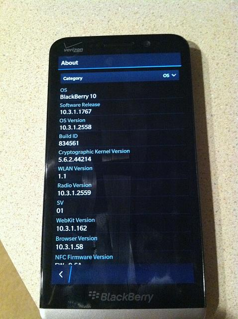 WTT: MY Verizon Z30 for YOUR Verizon Classic. - BlackBerry Forums at