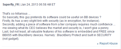 Hiliarious - Mobile security firm won't be making an app for BB10-capture.png