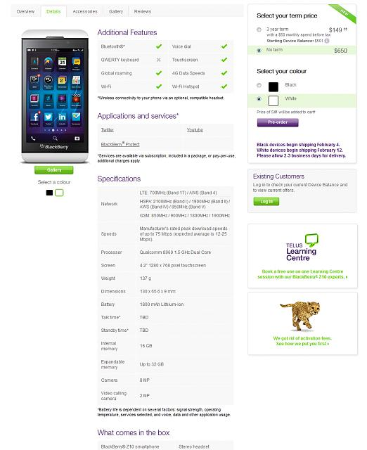 Official z10 pricing and specs from telus-untitled-3.jpg