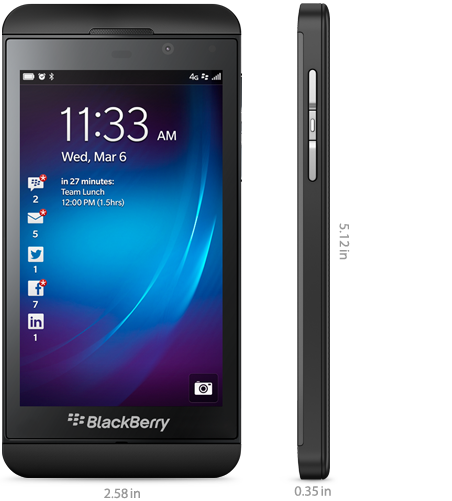 Bmw Z10: BlackBerry Z10 & BMW Z10