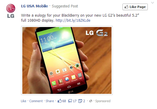 LG taking shots at BlackBerry with new Facebook ads-lg-bb-diss.png