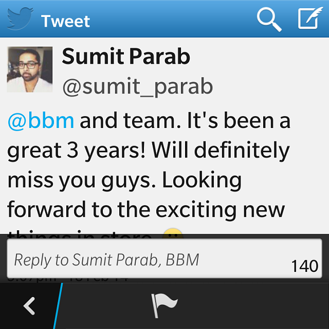 Sumit Parab, BBM Senior Product Manager, Leaves BlackBerry-img_20140218_194053.png