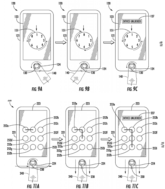New iPhone unlocking patent app. (using TouchID as trackpad)-unlockingapplication.png