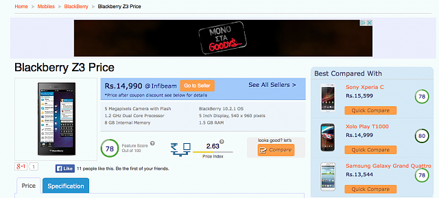 Bad move BlackBerry! (Z3 pricing in India)-2014-06-26-12.56.16.png