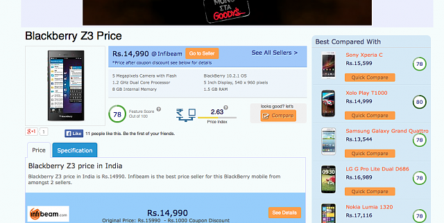 Bad move BlackBerry! (Z3 pricing in India)-2014-06-26-12.57.15.png