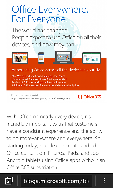 Microsoft Office now available on iPhone and coming to Android... (Not BlackBerry)-img_20141107_075224.png
