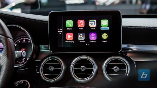 Ford's Sync 3 drops Microsoft for QNX-apple-carplay-mercedes-benz-c-class.jpg