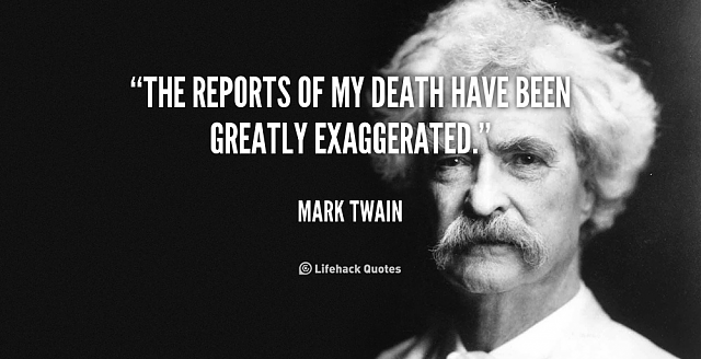 Microsoft Rumored Buyout Of BlackBerry-quote-mark-twain-reports-my-death-have-been-88406.png
