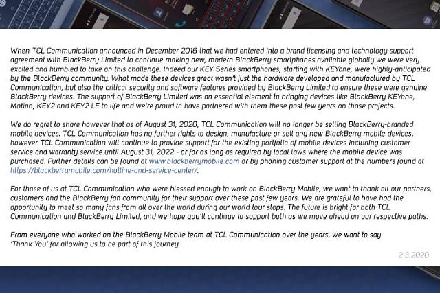 It's official -TCL announces the end of BlackBerry Devices-screenshot_20200203-090137.jpeg