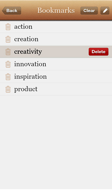 Dictionary+ : English Dictionary & Thesaurus for BlackBerry PlayBook-screenshot_pb-03.jpg