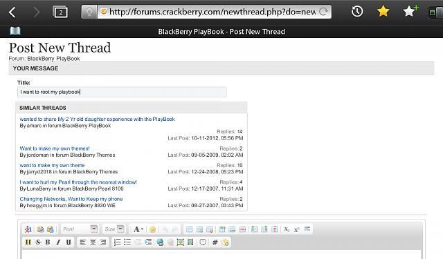 Jailbreak version 2 1 0 1032 - BlackBerry Forums at CrackBerry com