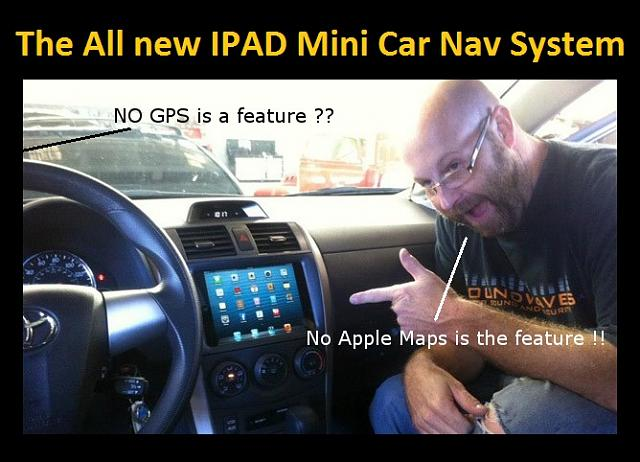 The All new Ipad Mini Car Navigation system is finally here with one amazing feature !-ipadmininav.jpg