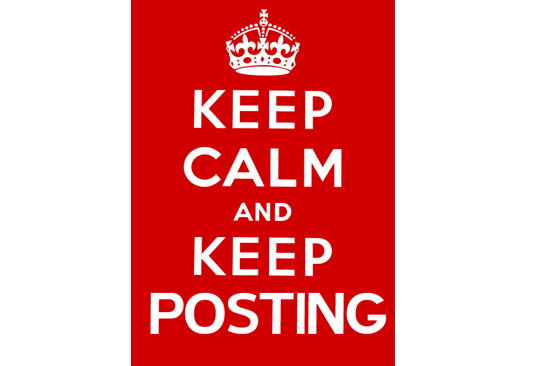 The CB 1M Challenge-keep-calm-keep-posting.jpg