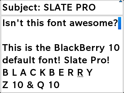 FONT DOWNLOAD FREE FOR BLACKBERRY BOLD