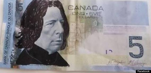 OK Candians who is 'Spocking'  bills?!-o-snape-5-bill-canada-570.jpg